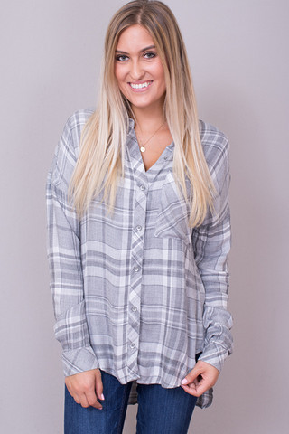 Bella Dahl Drop Shoulder Shirt
