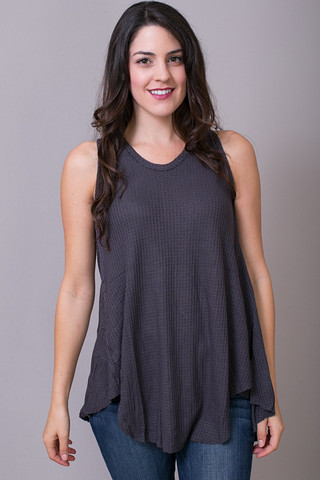 Mystree Charcoal Flowy Thermal Tank