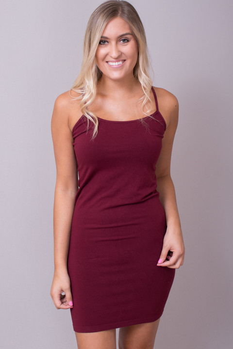 Tunic Cami Burgundy