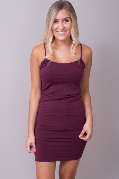 Tunic Cami Deep Wine