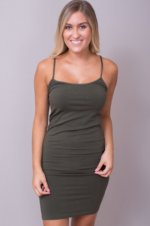 Tunic Cami Dusty Olive