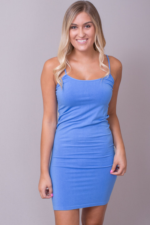 Tunic Cami Light Periwinkle
