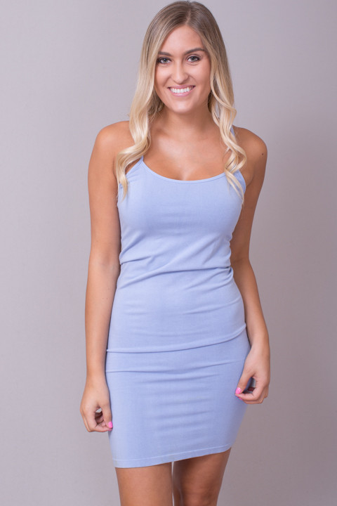 Tunic Cami Sky Blue