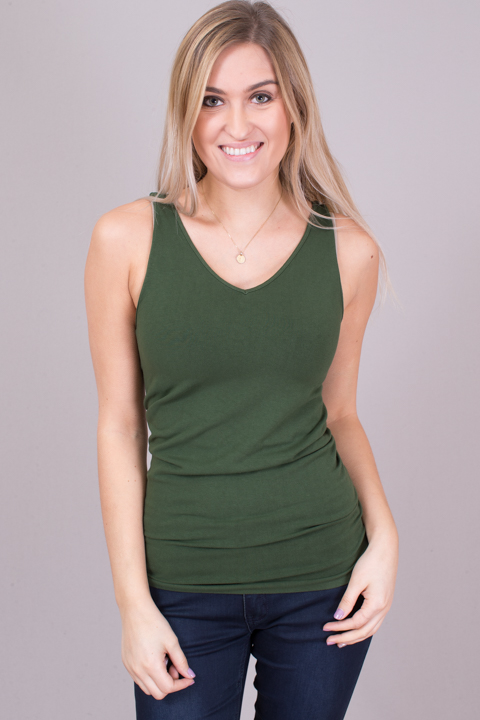 Reversible Scoop Tank Dark Woodlands
