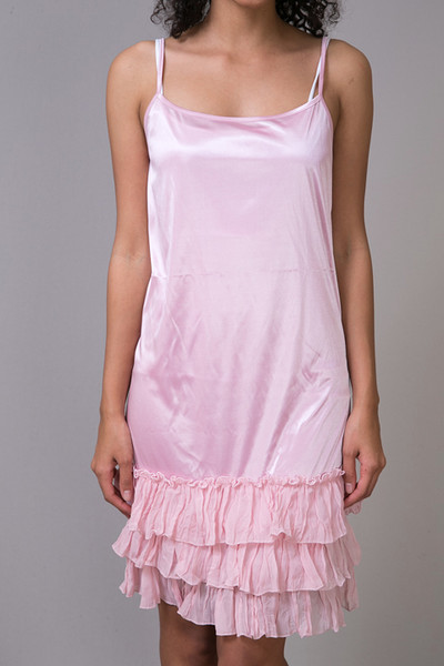 O2 Collection Pink Tissue Ruffle Slip 4