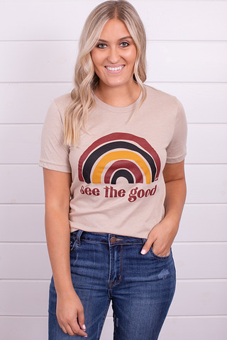 Alley And Rae Apparel See The Good Tee