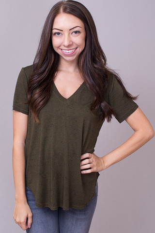 Bella Dahl Easy V-Neck Tee