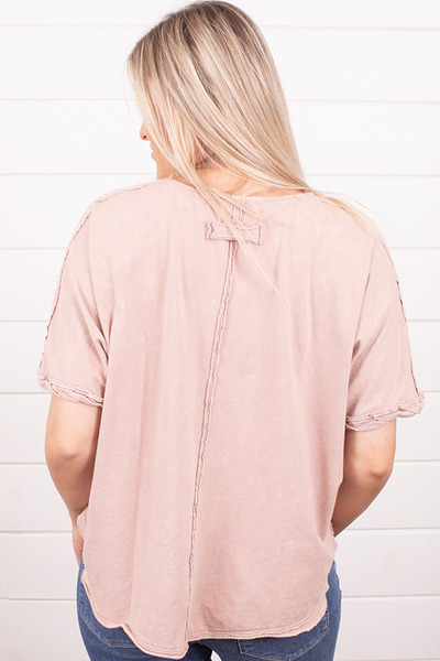 Ces Femme Pink Organic Tee 2