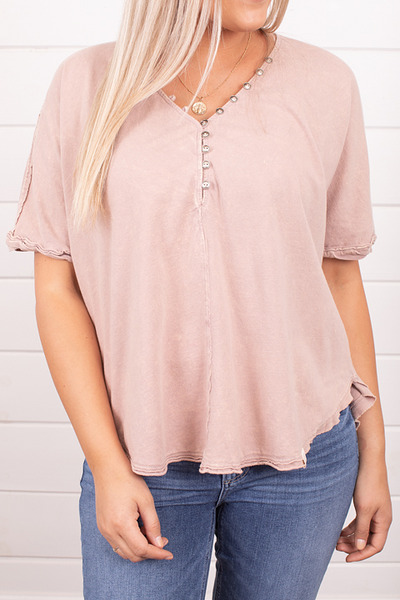 Ces Femme Pink Organic Tee 3