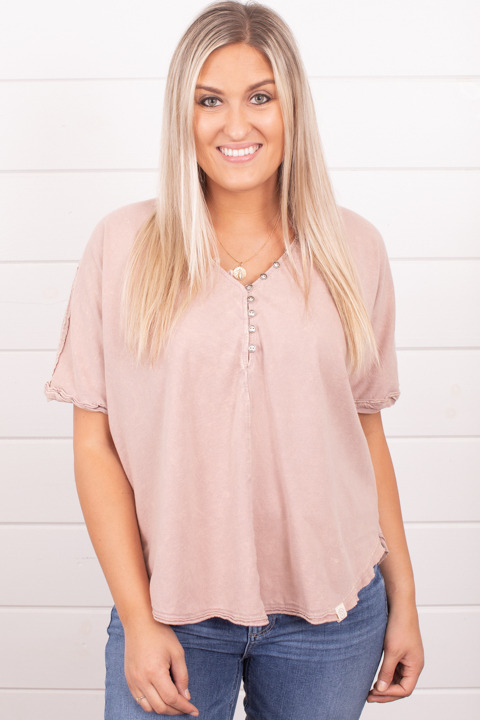Ces Femme Pink Organic Tee