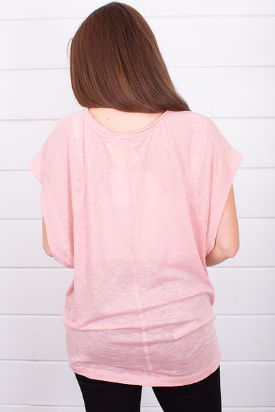 Free People The Halo Tee Pink 2