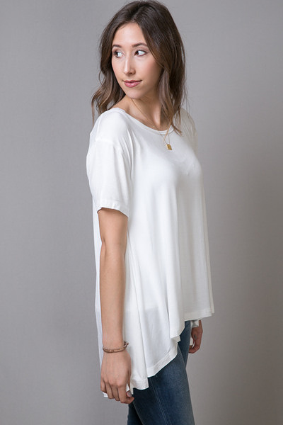 Mystree Swing Tee White 2