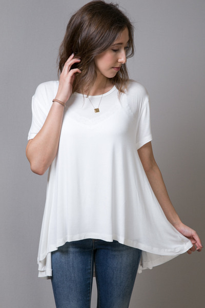 Mystree Swing Tee White