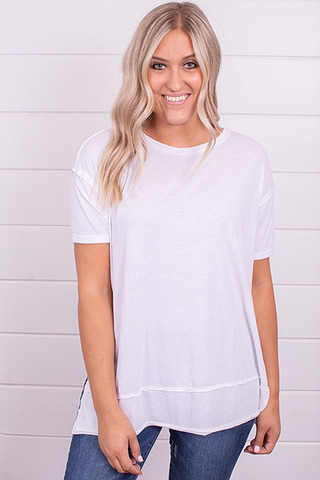 Z Supply Pali Tunic Tee White