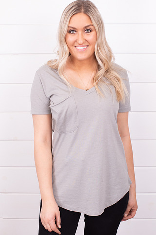 Z Supply The Pocket Tee Dusty Sage