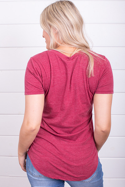 Z Supply The Pocket Tee Rumba Red 4
