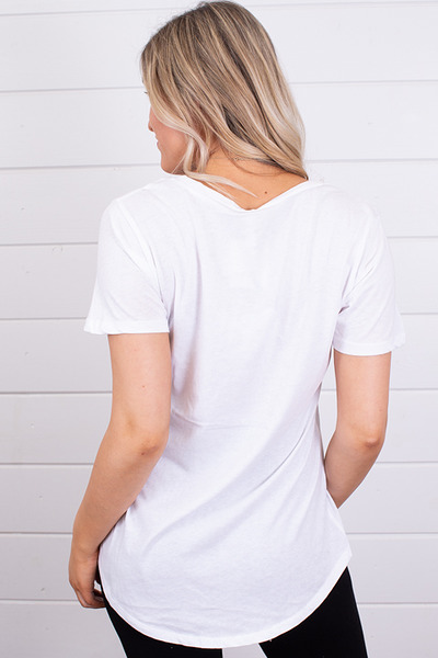 Z Supply The Pocket Tee White 3
