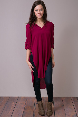 Explorer Tunic Crimson