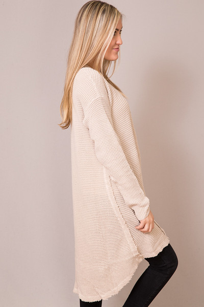 Hayden Cream Knit Cardigan 2