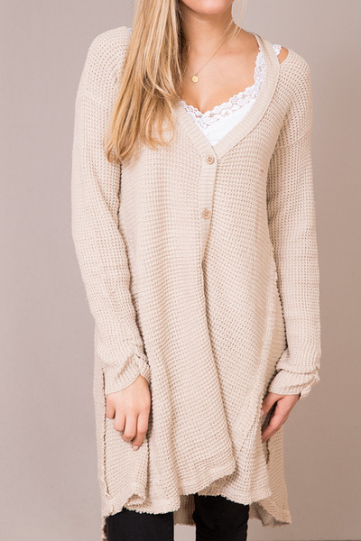 Hayden Cream Knit Cardigan 4