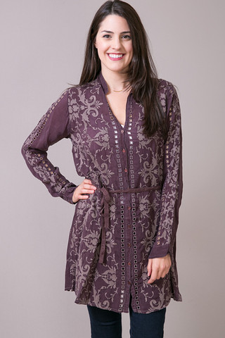 Johnny Was Collection Mimi Long Tunic