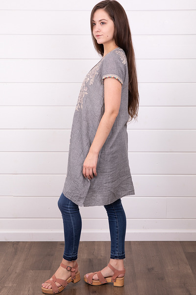 Johnny Was Collection Sophia Drape Tunic 2