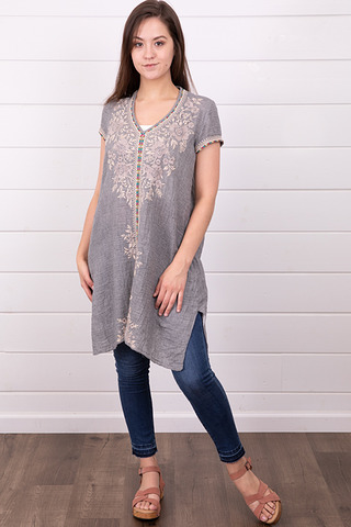 Johnny Was Collection Sophia Drape Tunic