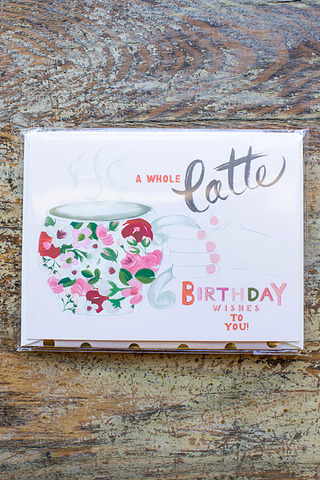 Latte Birthday