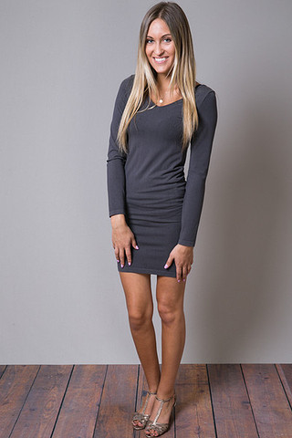 M. Rena Long Sleeve Seamless Tunic